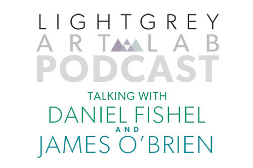 lightgreyartgallery :     Talking With Daniel Fishel & James O'Brien       Length:   01:20:09   Synopsis:   As the You Can Do It, Put Your Back Into It exhibition ends, we seek advice and encouragement from a couple of talented illustrators who have made it a point to stay creative, inspired and motivated. In the first half of the show, we chat with New York City-based illustrator Daniel Fishel about determination, overcoming mighty odds, and finding a positive edge to the tough parts of being an illustrator. Daniel has been a huge advocate for up-and-coming illustrators through his very active online presence and his participation in various creative panels. For the second half of the show, we have a great conversation with Twin Cities-based James O'Brien about his 20+ year career as a professional illustrator, as well as his experience as both an instructor and mentor in his time teaching, advising and leading in collegiate-level education. Jim addresses some insightful strategies for overcoming fear, the benefits of a visual journal, and some incredibly thoughtful advice on how to keep going if you really want to be in a creative field.     ———————————————————————-      I did a wonderful interview with Lindsay, Jenny and the crew at Light Grey Art Lab. My interview focuses mostly on motivation and overcoming odds where James O'brien (amazing illustrator by the way) follows up my interview with some insightful things to say about going the distance. If you have an hour and change, take a minute to check it out. :)