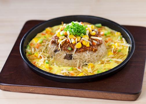 Teppan Tonkotsu Spicy Rice Nikomiso