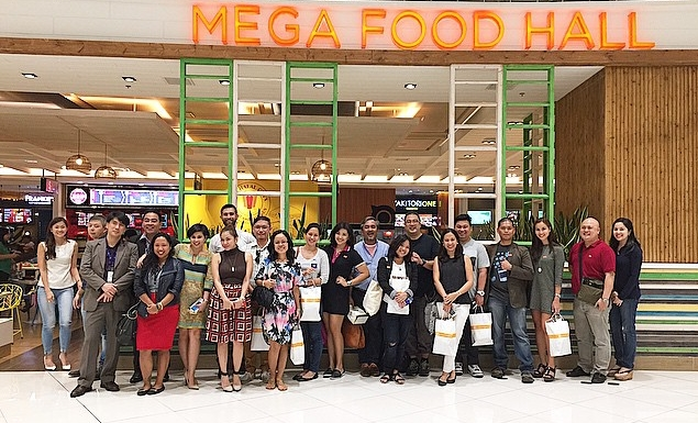 Well ya gotta breathe SOMETIME, right? THANK YOU   #MegaFoodHall   for a spectacular ending to our   #JustJonesingMegaFashionHall   crawl.
