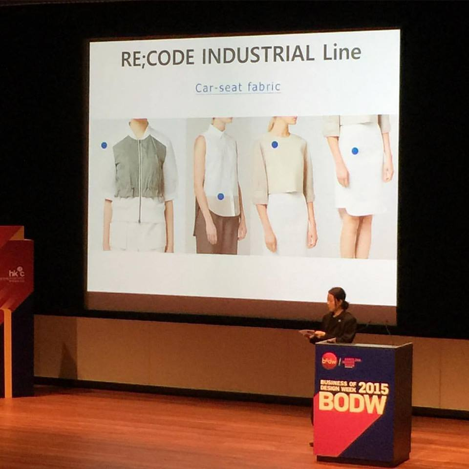Clothes made from old CAR SEATS! @recode_ --- I am now such a fan! Your work is fantastic!  ❤