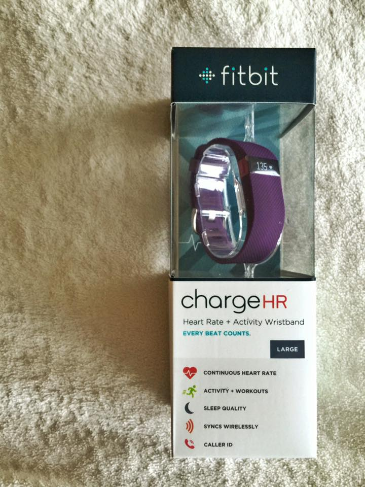 This is the very cool Fitbit Charge HR