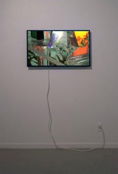 Owen Kydd, Windows and Walls, 2013, looped digital video.