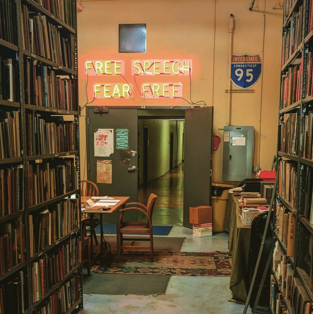 Providing access to information is a fundamentally creative act - Prelinger Library, San Francisco