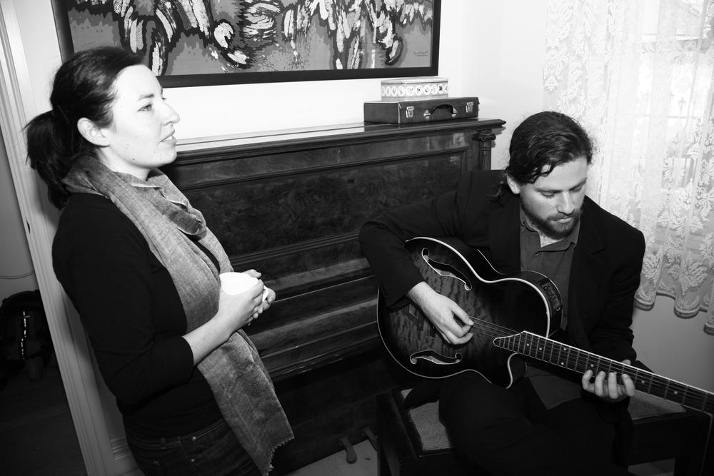 Rehearsal, November 2013. Credit Dan Maran