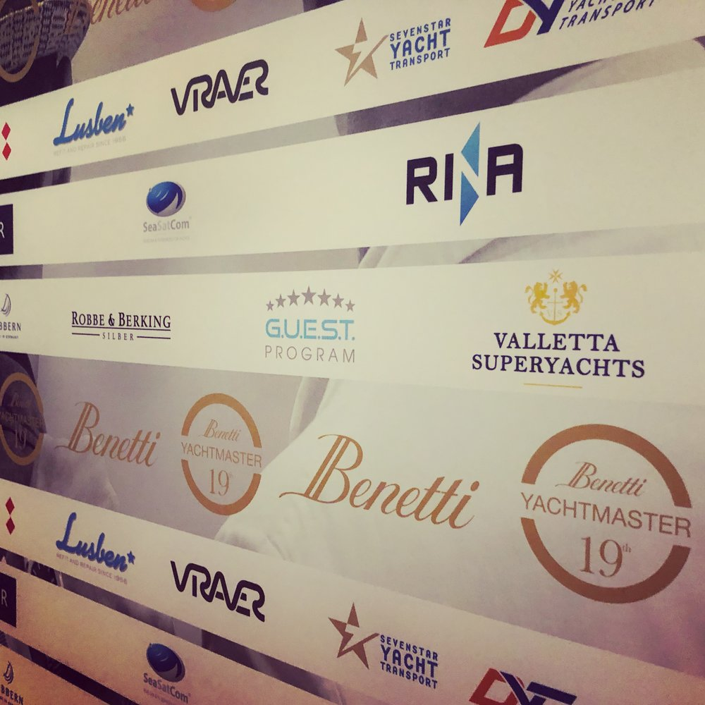 Valletta Superyachts in good company as guest sponsor at the Benetti Yachtmaster     #VLTsuperyachts #benetti #yachtmaster #19edition #YMtuscany19 #flying #maltaflag  #credence #vallettasuperyachts #network
