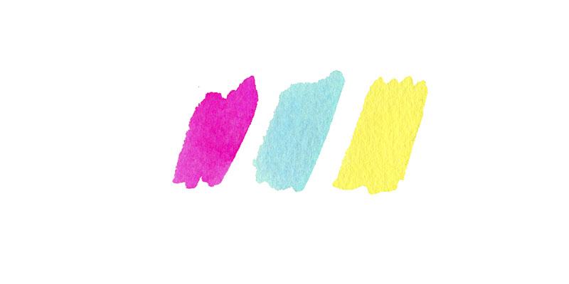 Sample color palette sketches