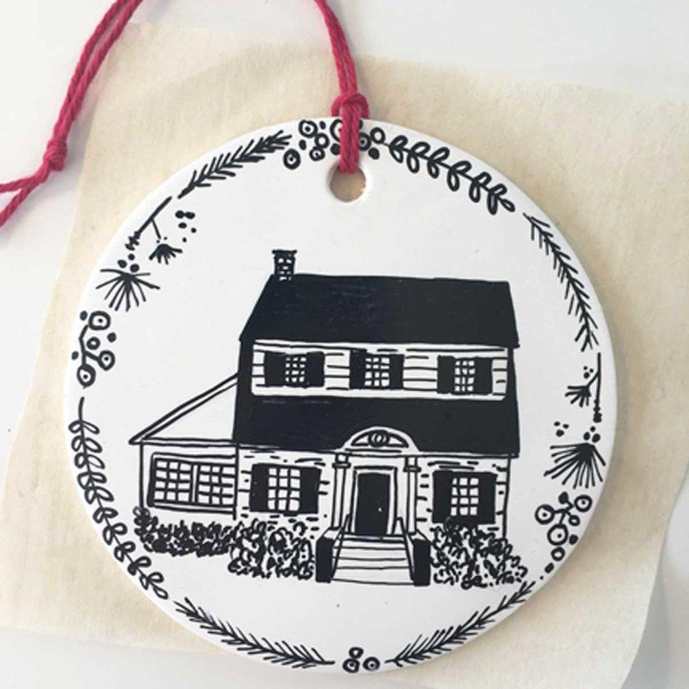 Lindsay Gardner Art Illustration Holiday Ornaments
