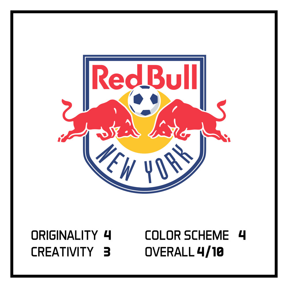 In last week's post, I ranked New York Red Bulls as #3 in the bottom 5 logos in the MLS.  View here