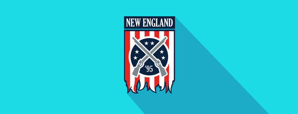 New England Revolution, re-brand mock-up.