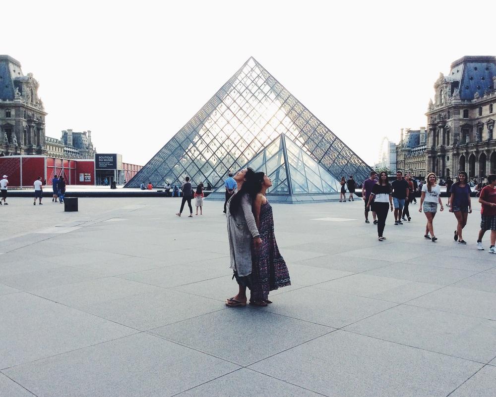 パリに住む大好きなりょうこと思い出の時間。