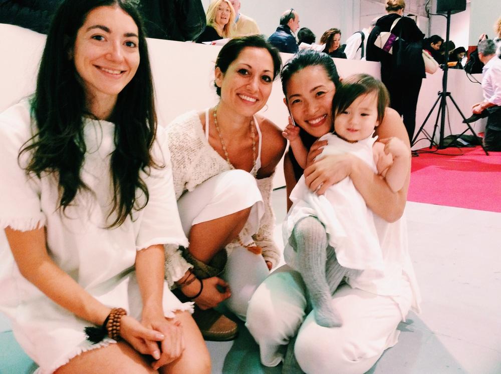 Zuddha Yoga Karma Yoginis! TT受講生もお手伝い、応援に駆けつけてくれました。