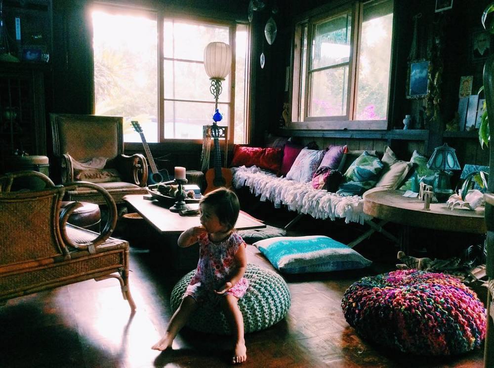 いつ訪れても本当に素敵なケイコさんのお家。