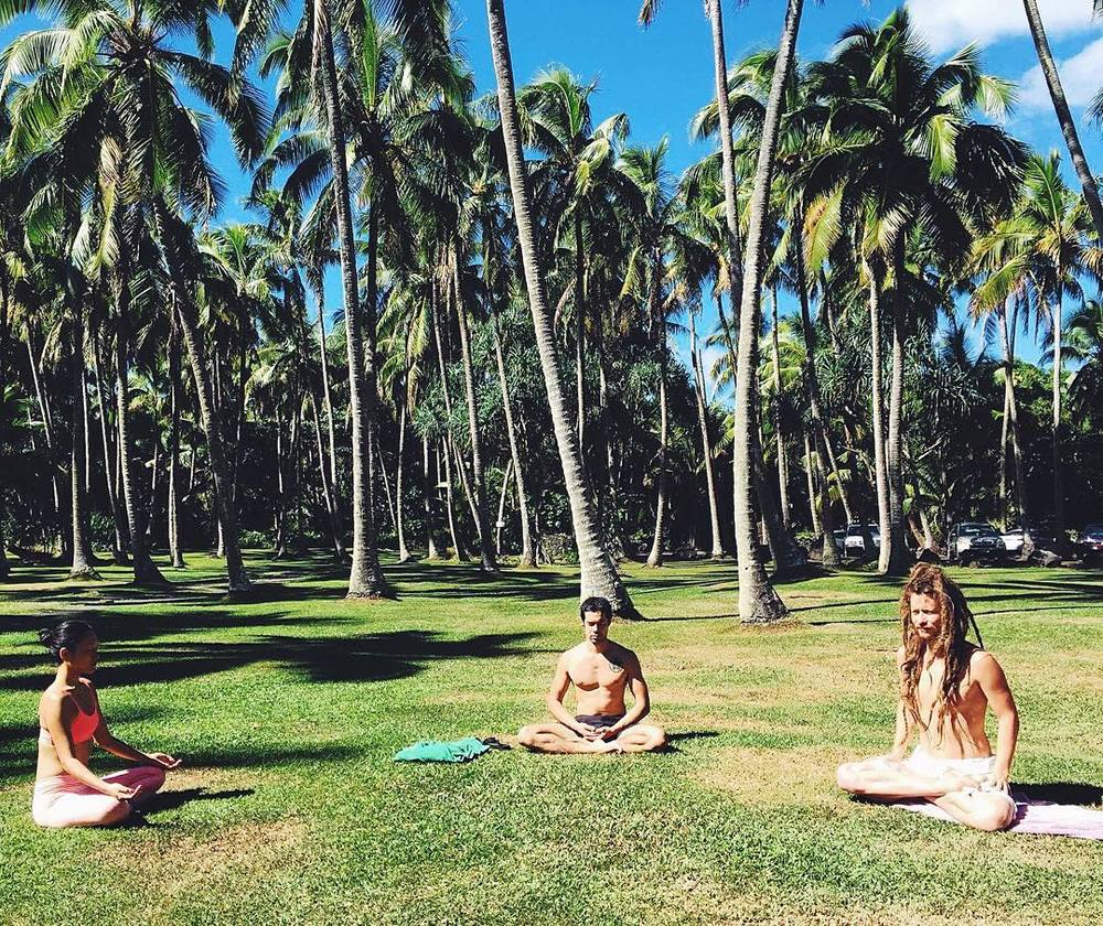 東京からは、Flow Arts Yogaのインストラクター、ミスズちゃんが遊びに来てくれて、TTCが始まる前まで一緒に練習したり、お手伝いもしてくれてさすがヨギーニ!パドマを可愛がってくれてありがとう❤︎