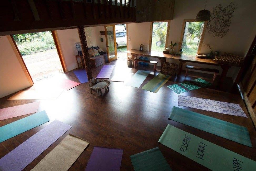 Our indoor dojo
