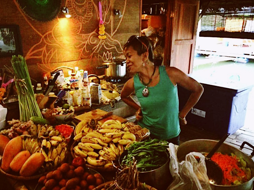 Our Organic Vegan Thai and fusion chef Jackie!