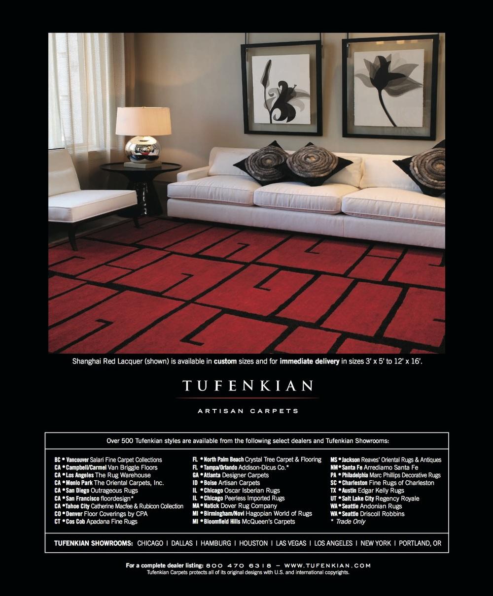 Aramazt Kalayjian Works Tufenkian Artisan Carpets Marketing Materials