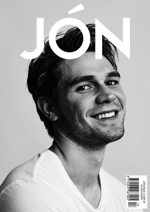 celeb photos  kj apa for jon magazine - celebria