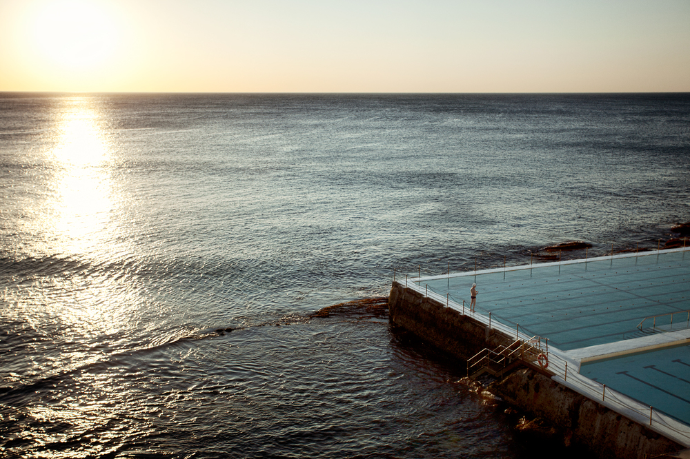The most beautiful pool I have seen in my life at Bondi Beach Australia