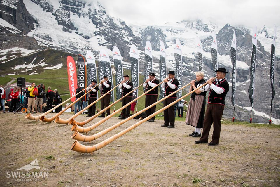 Swiss tradition at the finish