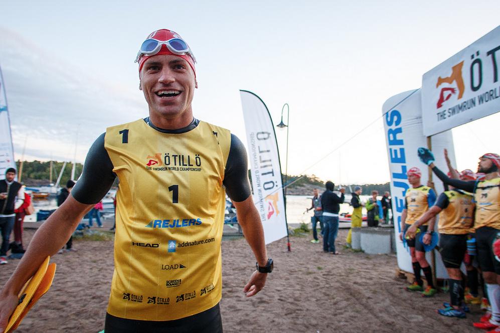 Björn minutes for the start of Ötillö 2014