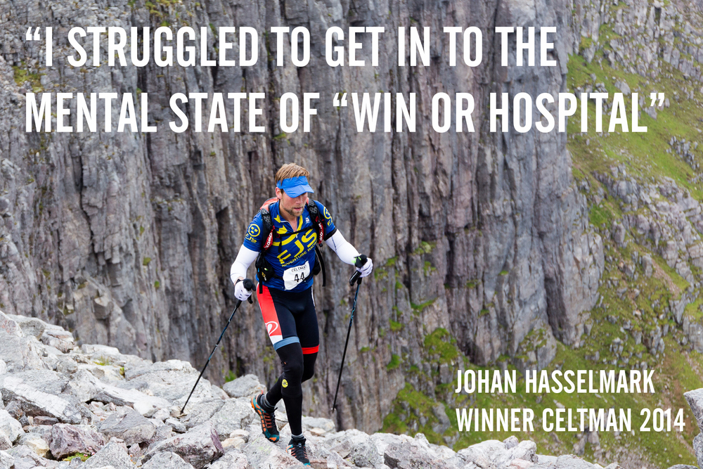 Johan Hasselmark Winner Celtman 2014