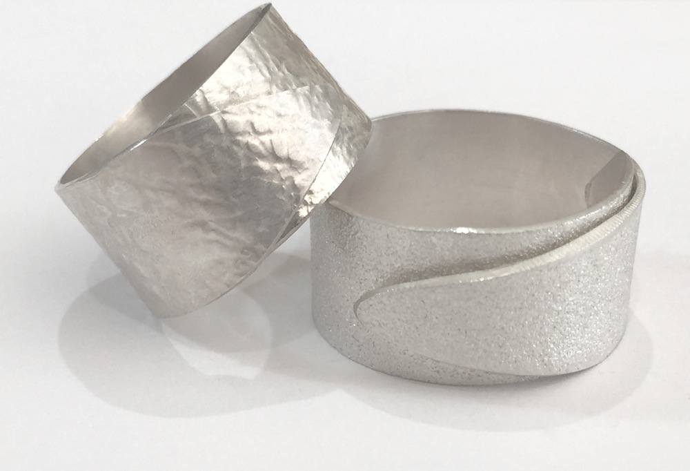 Textured Wrap Rings