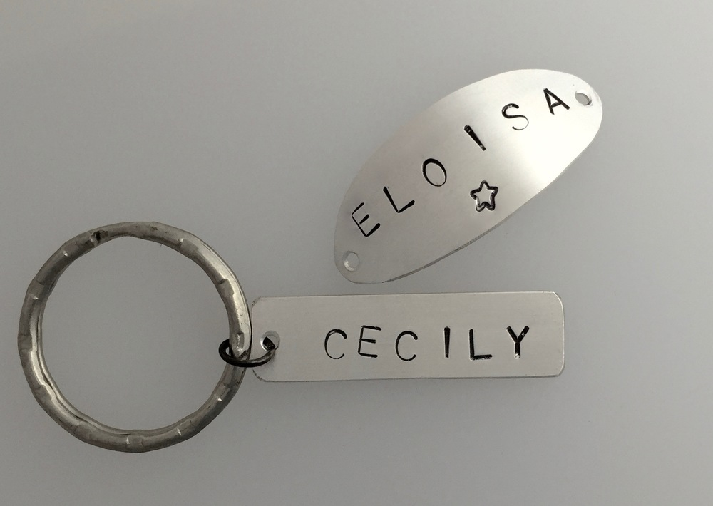 Personalised Hand Stamped Jewellery