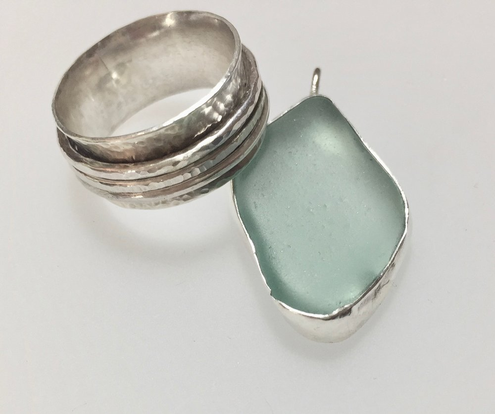Sea Glass and Spinner RIng.jpg