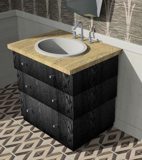 custom bathroom vanities — barnett adler