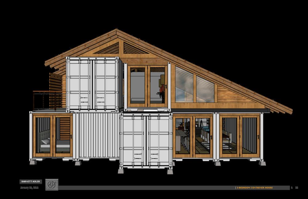 Man Cave Lillington Nc : Bedroom shipping container design — barnett adler
