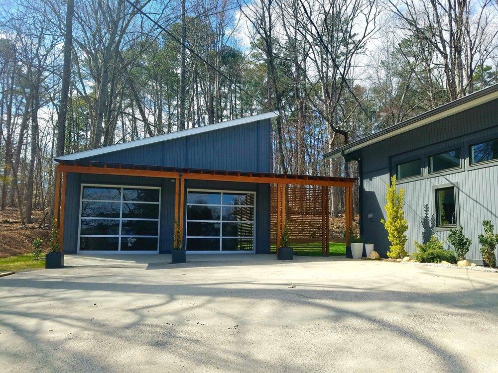 garage addition chapel hill nc barnett adler - Garage Addition