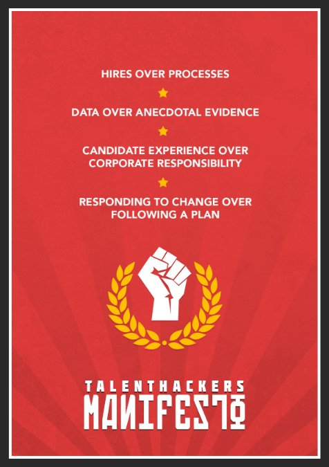 A Talent Hackers Manifesto - Matt Buckland