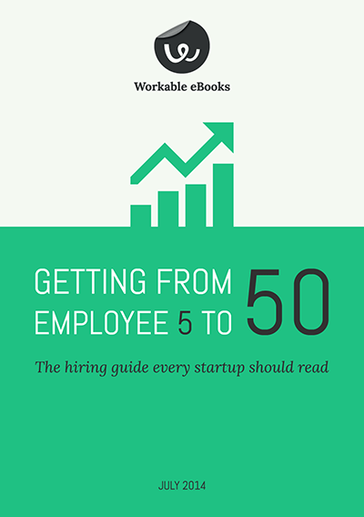 Startup hiring guide from Workable (free eBook)