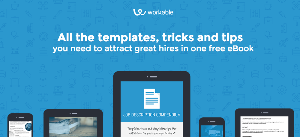 Best job description templates from Workable (free eBook)