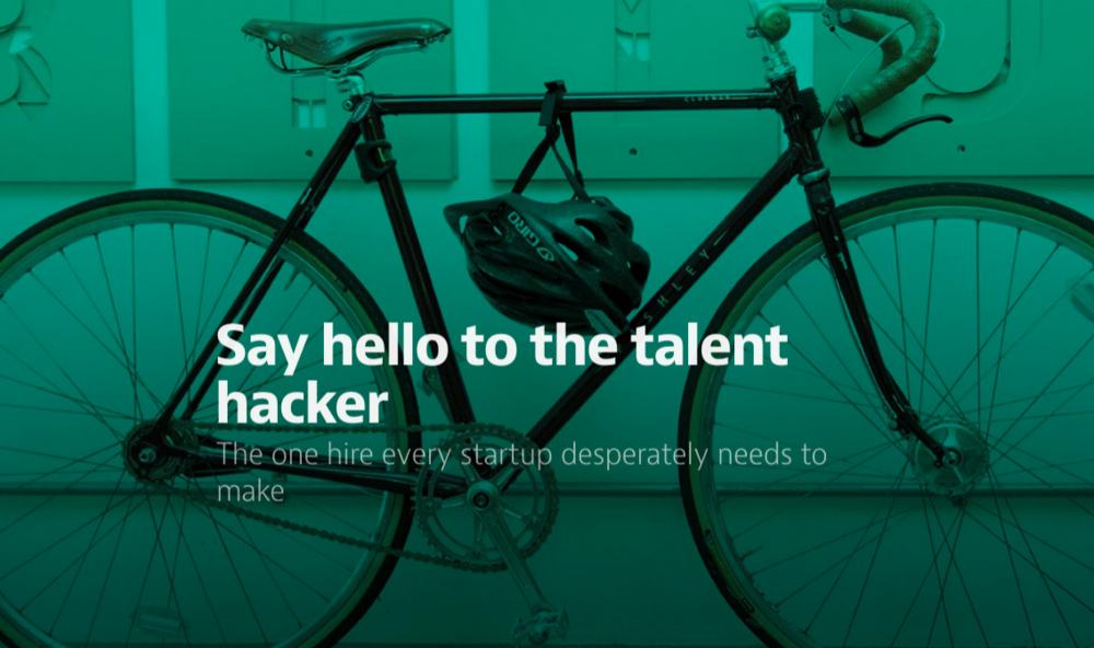 Say hello to the talent hacker  by Makeshift