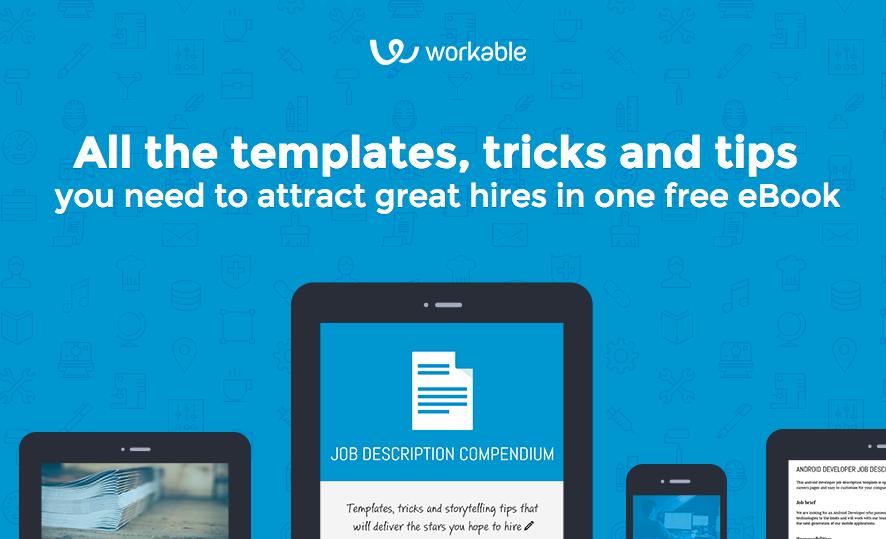 Best job description templates + tips  by Workable