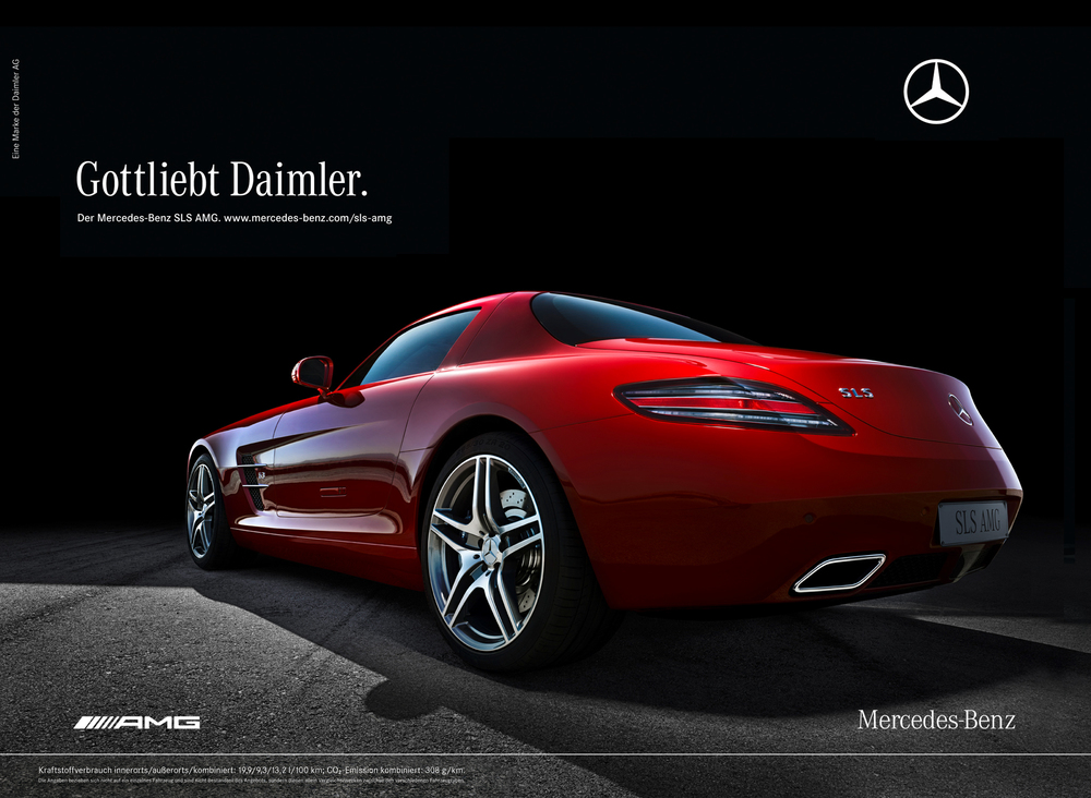 Martin strutz advertising digital creative for hire for Mercedes benz marketing mix