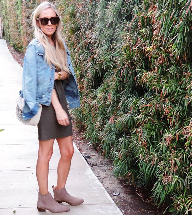 Living in these new booties from the #Nsale! More booties - all under $100 - on my blog now (link in bio!) http://liketk.it/2oU4h #Nsale @liketoknow.it #liketkit #ootd