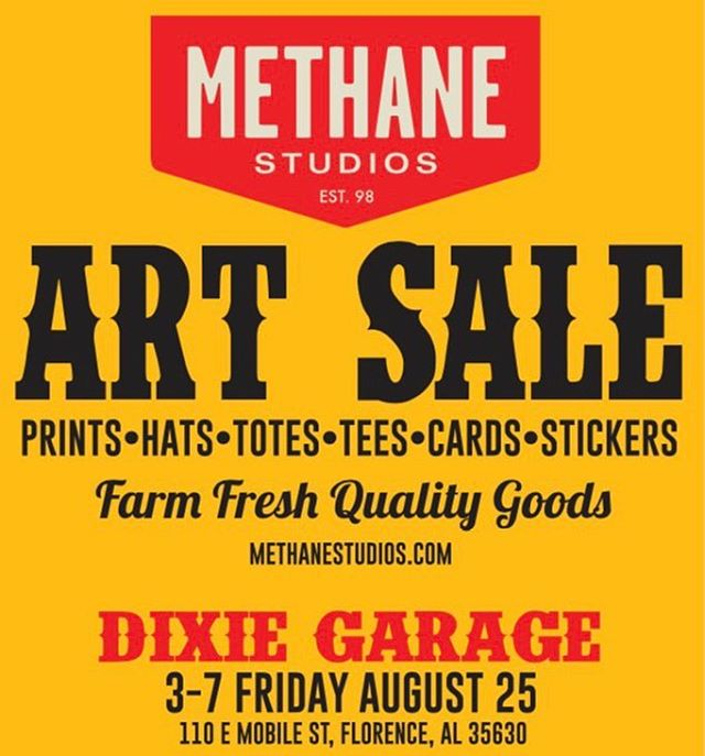 @methanestudios will be kicking off their #billyreidshindig weekend with us tomorrow! Be sure and drop in!