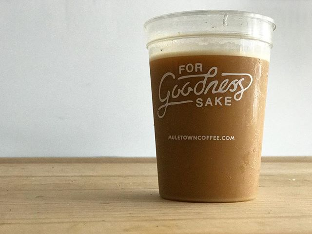 Cold brew on tap in front of the shop. It's gonna be a good day y'all.