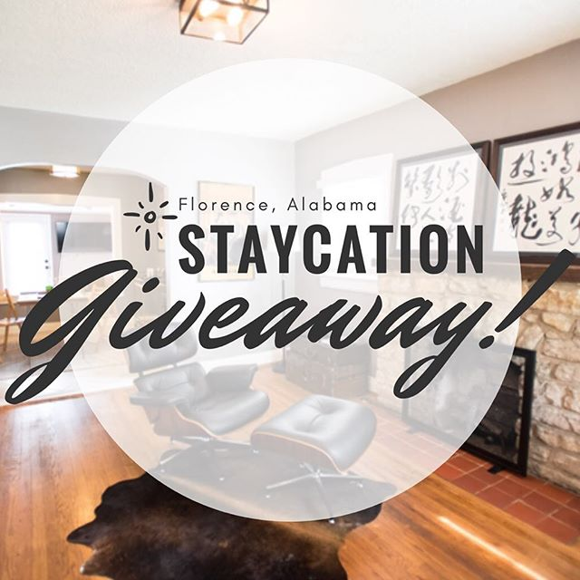 Our friends and neighbors are giving away a weekend in the Shoals. We'd love for you to come see what we've got going on on Florence - go check it out!