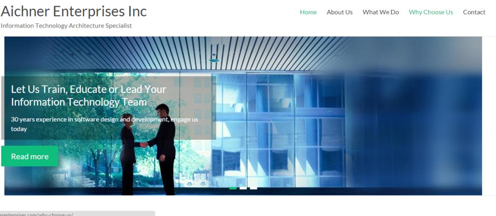Aichner Enterprises Homepage