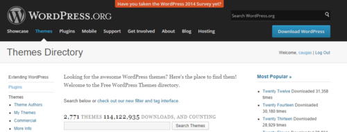 Wordpress Themes and Downloads