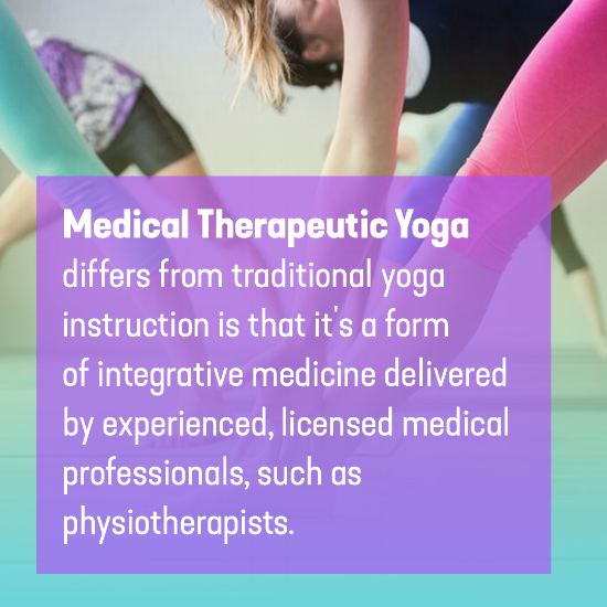 Medical Therapeutic Yoga and Why It's Different