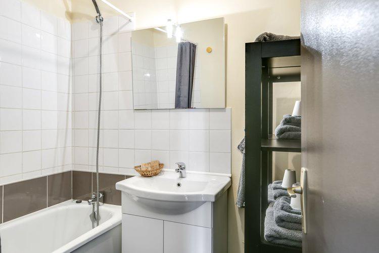 Salle de bain du gîte Nouba