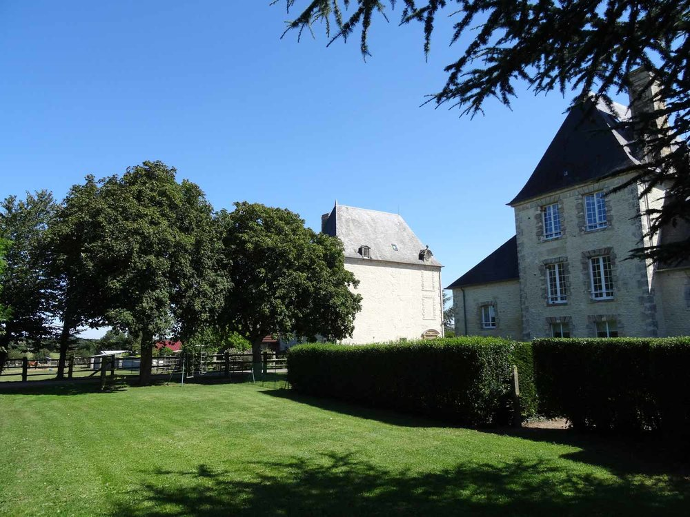 the chateau turgot in normandy