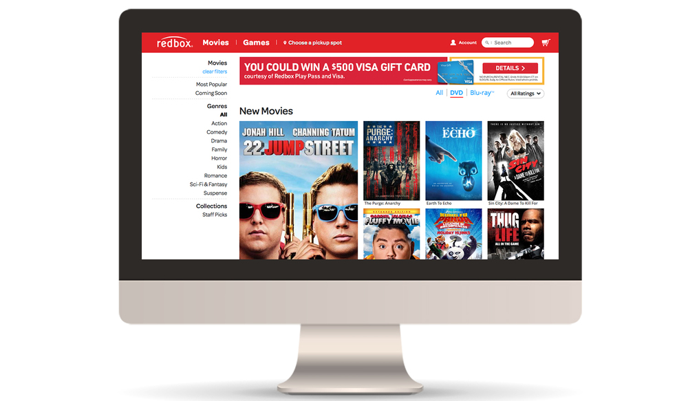 Movie Browse Page Banner Ad