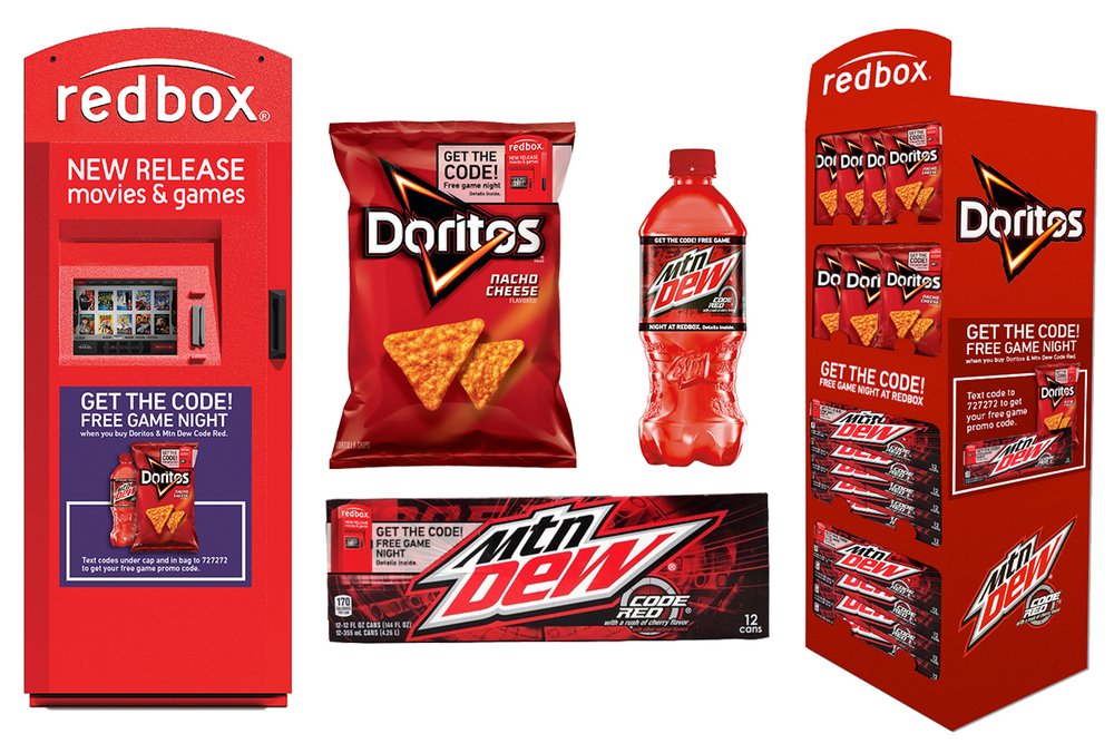 Redbox POS and Packaging Concepts
