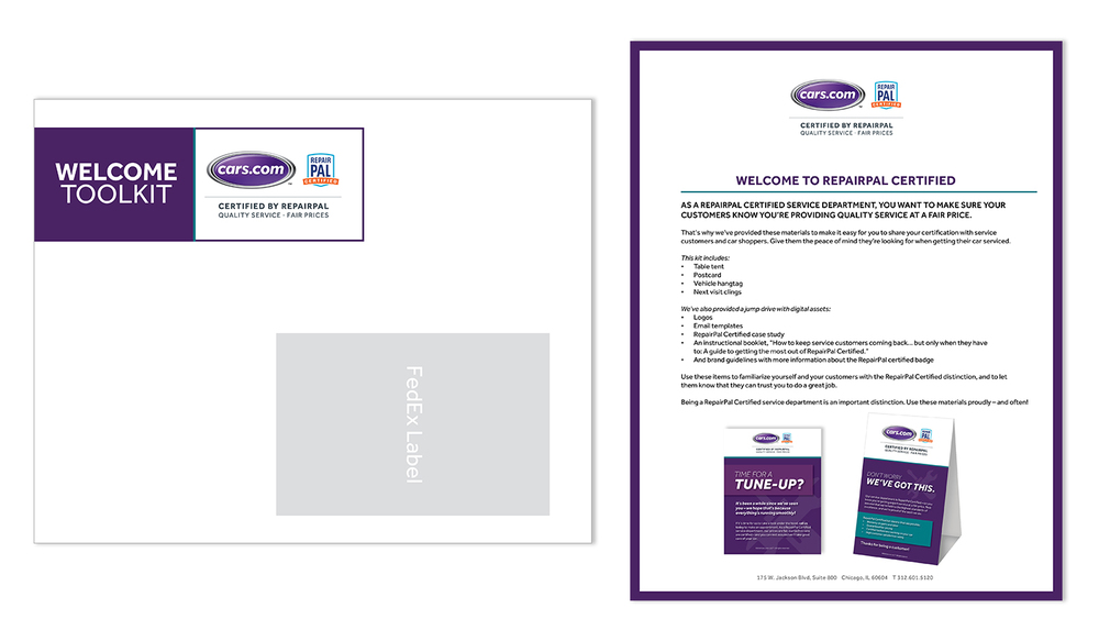 Marketing Toolkit (Envelope and Letter)