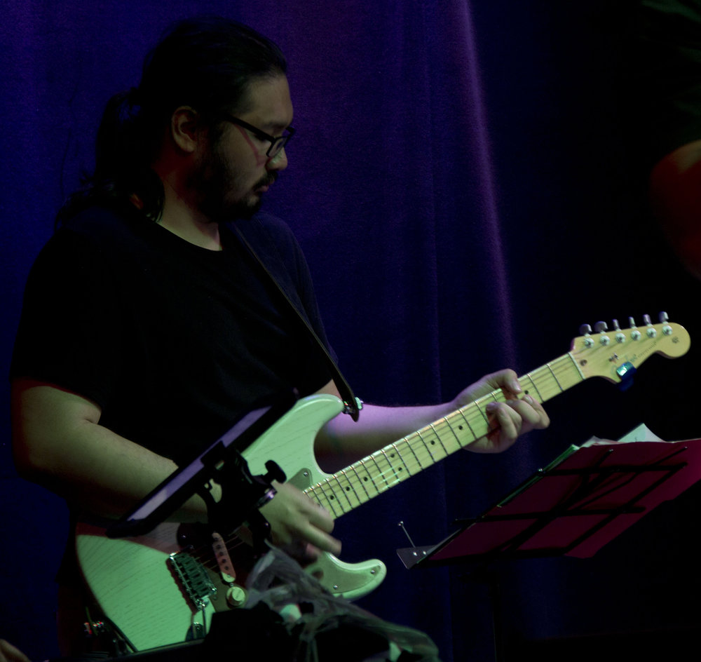Edrik is a 'Fender' guy. He has played the guitar since he was 9 yrs old. He loves playing all genres of music but considers himself mainly a rock-style guitar player. His influences are Guthrie Govan, Paul Gilbert, and Joe Bona Bonamassa.